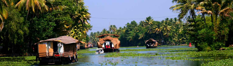 House Boats in Karela India